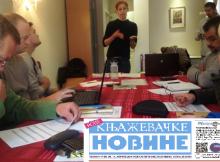 """Priprema redakcije projekta """"Lokalni mediji za prava Roma"""""""